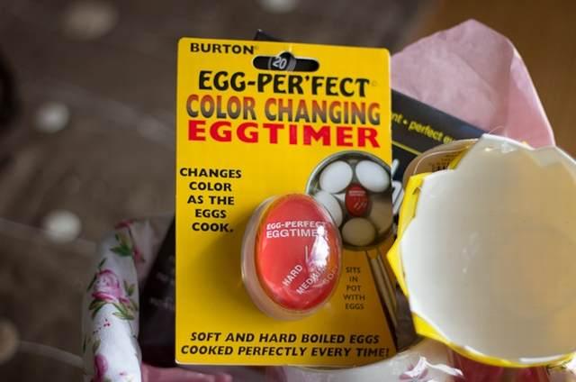 ゆで卵が半熟で簡単に作れるエッグタイマーをレビューする