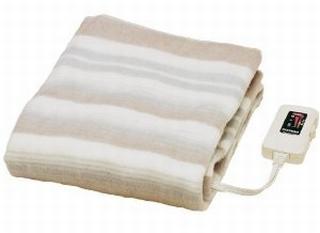 なかじきの電気敷き毛布