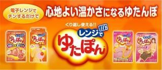 電子レンジ湯たんぽ