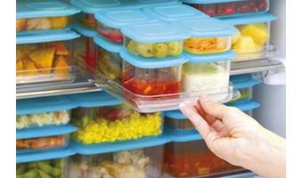 食材を冷凍保存する