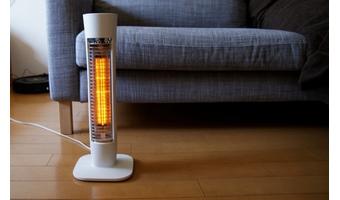 一人暮らしは電気ストーブを活用する
