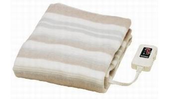 寝るときは「なかじきの電気敷き毛布」がオススメ