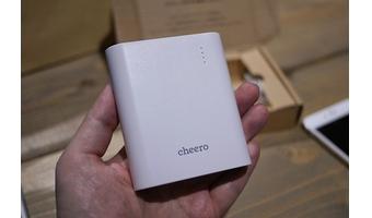 amazonで買ってよかったもの⑤「cheero Power Plus 3」