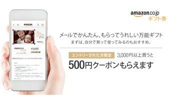 アマゾンのギフト券キャンペーンは超お得!