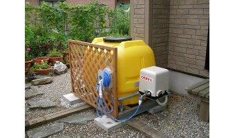 番外編 雨水タンクを使用する