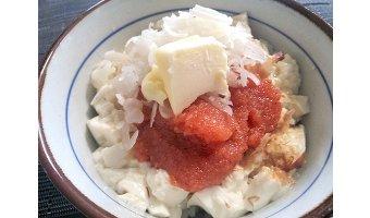 ズボラ飯レシピ⑦ 明太子丼