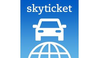 スカイチケットレンタカーのアプリも登場