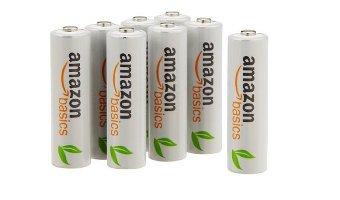 amazonで買ってよかったもの⑩「amazonベーシック 充電式ニッケル水素電池 単3形8個パック」