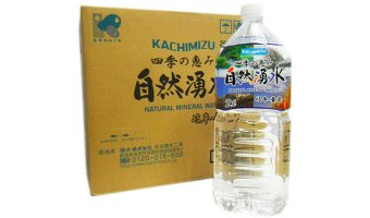 amazonで買ってよかったもの⑰「四季の恵み 自然湧水 2L×12本」
