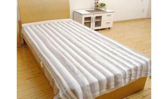 節電グッズ③「なかぎしの敷き毛布」
